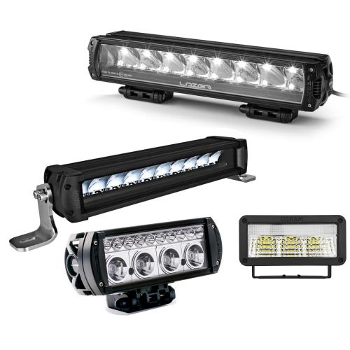 LED-Zusatz-Fernscheinwerfer mit Zulassung gem. ECE R112